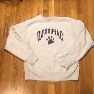 Quinnipiac sweatshirt from champion with old logo